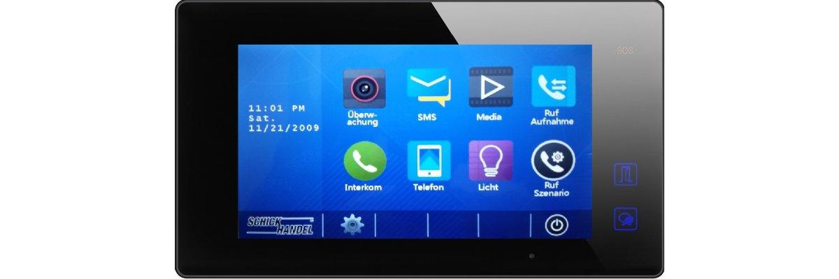 Kalibrieren des Touch Screens am  Sprechanlagen Monitor MB87 (DT47MG & andere) - Kalibrieren des Touch Screens am  Sprechanlagen Monitor MB87 (DT47MG & andere)