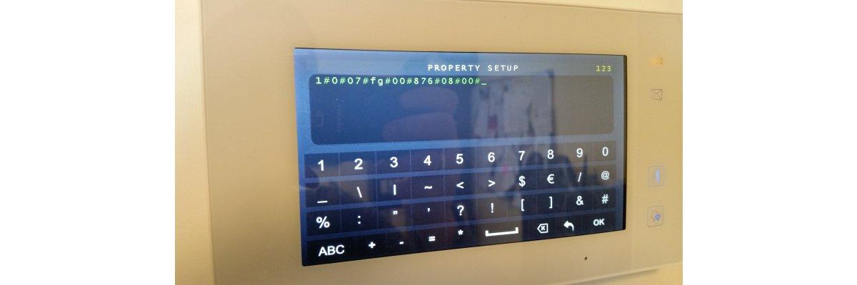 Sprechanlagen Monitor startet ohne Berührung in sporadischen Abständen   - Sprechanlagen Monitor startet ohne Berührung in sporadischen Abständen