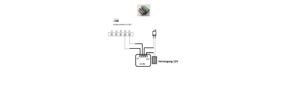 Türöffner für Video Türsprechanlage und Tor Anschluss über externes Relais ERL  - Türöffner für Video Türsprechanlage und Tor Anschluss über externes Relais ERL