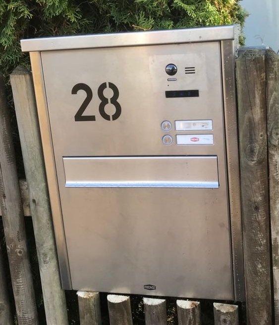 Sprechanlage-Video-Mehrfamilienhaus-Briefkasteneinbau-2