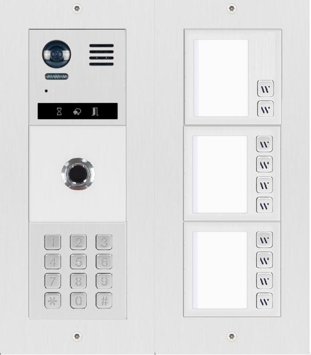 DT821 Sprechanlage mit Display und Fingerprint