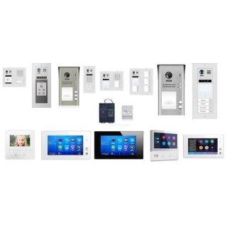 Video Türsprechanlagen Konfigurator Mehrfamilienhaus Unterputz/Aufputz/Briefkasten