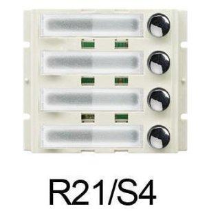 R21/S4 einreihiges Tastenmodul beleuchtet  für DMR21 & DMR11SS