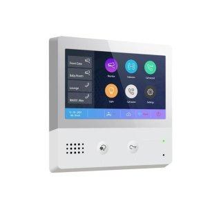 """WBM871M7-W BUS SIP via WIFI Sprechanlagen Monitor mit Bild/Videospeicher 7"""" Touch"""