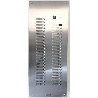 DMR21/S42- fe spezial Mehrfamilienhaus Türklingel 42 Tasten +UP Kasten Fischauge 170° PAN TILT Keypad