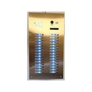 DSB42/S30 Router Station  Front Spezial S30/mit Hausnummer hinterleuchtet UP Kasten  30WE