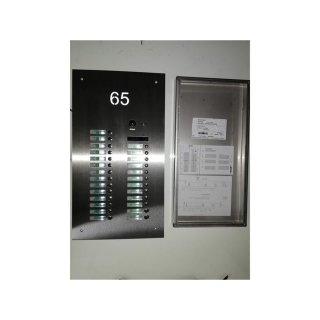 DSB42/I/S26 Sonderstation Hausnummer gelasert