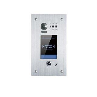 Aktion! DT601F/ID Video Türsprechanlage 1-FamilienhausUnterputz 105°  mit Transponder Türöffner