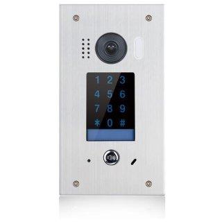 DSB1211F/KP Video Türsprechanlage 1-Familienhaus Türstation mit Keypad Unterputz