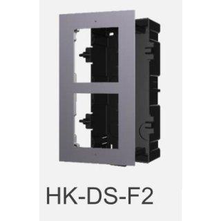 DS-KD-ACF2 Front & unterputz Einbaurahmen 2-fach HIKVISION