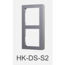 DS-KD-ACW2 Front & Aufputz Einbaurahmen 2-fach HIKVISION
