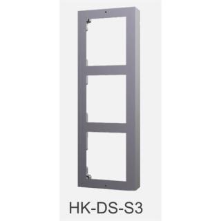 DS-KD-ACW3 Front & Aufputz Einbaurahmen 3-fach HIKVISION