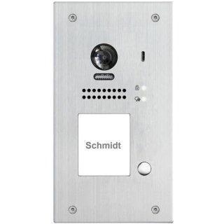 DSB1207F/ID/FE-S1 Video Türsprechanlage 1-Familienhaus 170° Fischauge 2MP  Türsprechanlage mit RFID Türöffner Video Türsprechanlage 1-Familienhaus  Unterputz