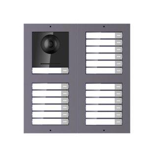 2 Draht IP Video Türklingel  HIKVISION 2 Megapixel 19 x Klingeltaste  /UP /2er