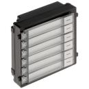 2 Draht IP Video Türklingel  HIKVISION 2 Megapixel 19 x Klingeltaste /AP /2er