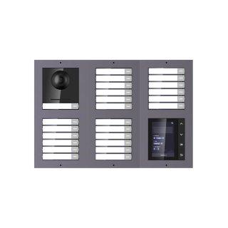 2 Draht IP Video Türklingel  HIKVISION 2 Megapixel 25 x Klingeltaste  /TFT /UP /2er
