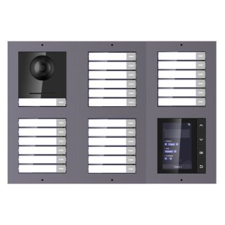 2 Draht IP Video Türklingel  HIKVISION 2 Megapixel 25 x Klingeltaste /TFT /AP /2er