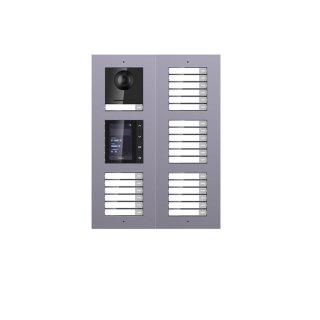 2 Draht IP Video Türklingel  HIKVISION 2 Megapixel 25 x Klingeltaste /TFT /UP /3er