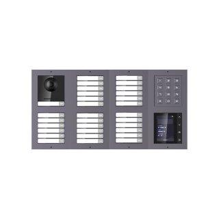 2 Draht IP Video Türklingel  HIKVISION 2 Megapixel 31 x  Klingeltaste /KP /TFT /UP /2er