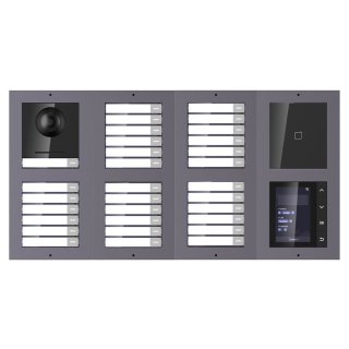 2 Draht IP Video Türklingel  HIKVISION 2 Megapixel 31 x  Klingeltaste / ID/TFT /AP /2er