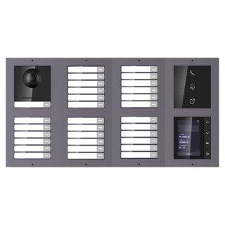 2 Draht IP Video Türklingel  HIKVISION 2 Megapixel 31 x  Klingeltaste/I /TFT /AP /2er