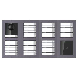 2 Draht IP Video Türklingel  HIKVISION 2 Megapixel 37 x Klingeltaste / ID /UP /2er