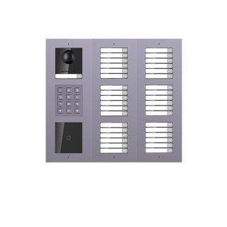 2 Draht IP Video Türklingel  HIKVISION 2 Megapixel 37 x Klingeltaste / ID /KP/AP /3er
