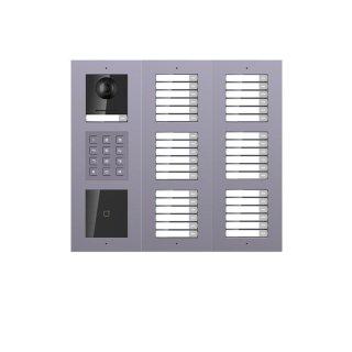 2 Draht IP Video Türklingel  HIKVISION 2 Megapixel 37 x Klingeltaste / ID /KP/UP /3er