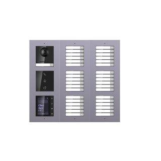 2 Draht IP Video Türklingel  HIKVISION 2 Megapixel 37 x Klingeltaste  /I /TFT /AP /3er