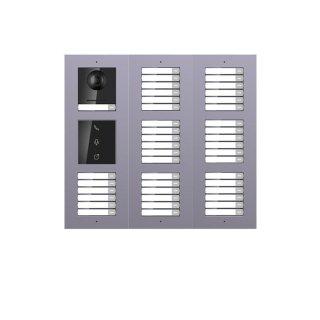 2 Draht IP Video Türklingel  HIKVISION 2 Megapixel 42 x Klingeltaste /I/UP /3er