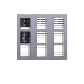 2 Draht IP Video Türklingel  HIKVISION 2 Megapixel 42 x Klingeltaste /TFT /UP /3er