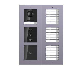 2 Draht IP Video Türklingel  HIKVISION 2 Megapixel 19 x Klingeltaste /ID/I