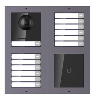 2 Draht IP Video Türklingel  HIKVISION 2 Megapixel 13 x Klingeltaste /ID /2x2er