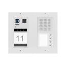 DT821 Video Türsprechanlage 4x Klingeltaste  Mechanisches Keypad f.Türöffner und Klingeln & Infomodul