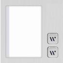 DT821 Video Türsprechanlage 6x Klingeltaste mit Dot-MatrixdisplayModul  f. Aktionsanzeigen und RFID Karten Türöffner