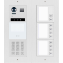 DT821 Video Türsprechanlage 10 Klingeltaste MechanicalKeypadModul f. Türöffner & Monitor Anwahl / Dot-Matrix display Modul  f. Aktionsanzeigen und RFID Karten Türöffner