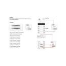 R21/K8 Tasten Converter zum auflegen externer Klingeltasten (Briefkasten Sprechanlagen)