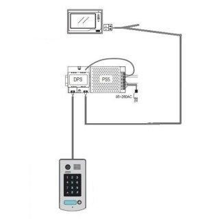 Stromversorgungs- Controller Sprechanlage +PS5 Netzteil für größere Sprechanlagen