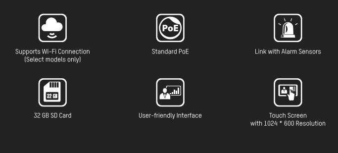 IP Sprechanlage modular Aufputz & Unterpu